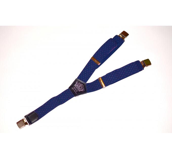 Подтяжки галстучные P35-019 синий