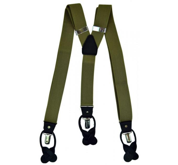 Подтяжки галстучные P35-038 хаки