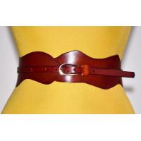 Женский ремень-корсет KR70-016 красный