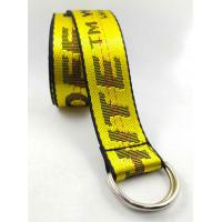Текстильный ремень стропа S40-029 желтый