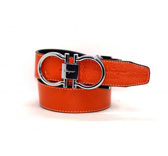 Женский ремень Fr30-004 оранжевый