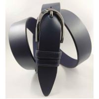 Женский ремень классический Glamour J35-018 темно-синий