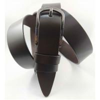 Женский ремень классический Glamour J35-019 темно-коричневый
