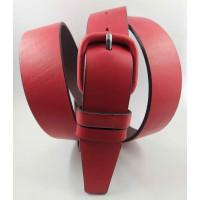 Женский ремень классический New Style J35-025 красный