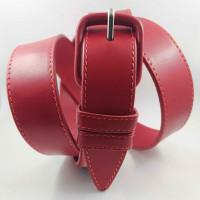 Женский ремень классический Millennium J35-032 красный