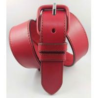 Женский ремень джинсовый Millennium J40-132 красный